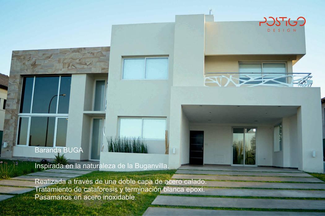 Baranda Buga Casas modernas: Ideas, imágenes y decoración de Postigo design Moderno