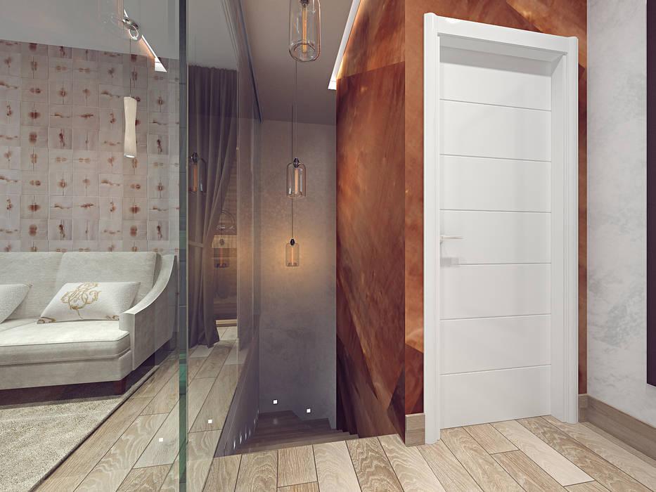 Couloir et hall d\'entrée de style par олег елфимычев ...
