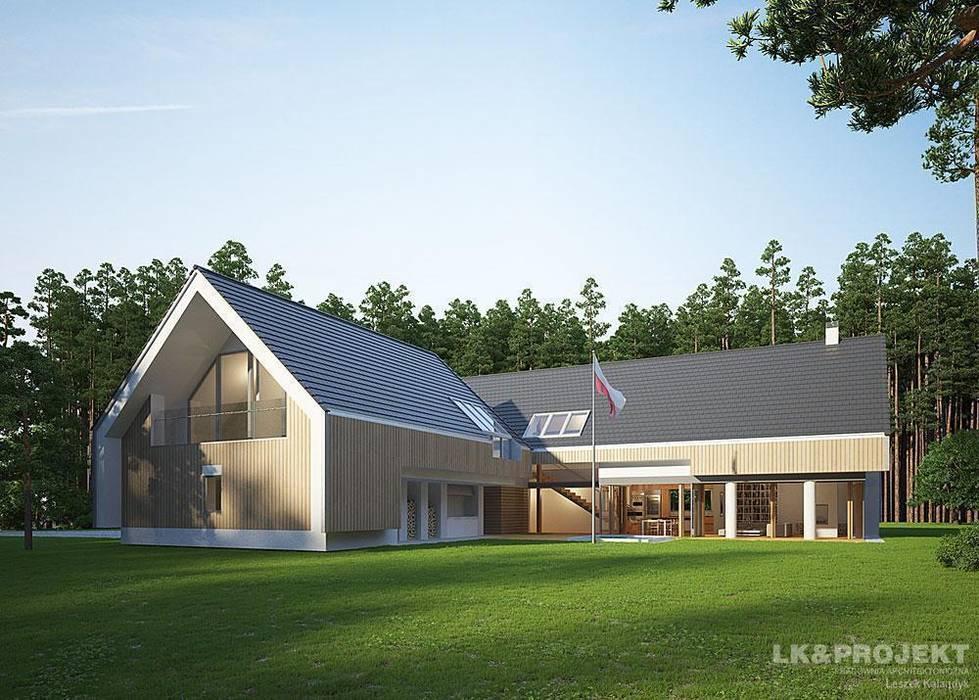 Casas modernas: Ideas, imágenes y decoración de LK & Projekt Sp. z o.o. Moderno