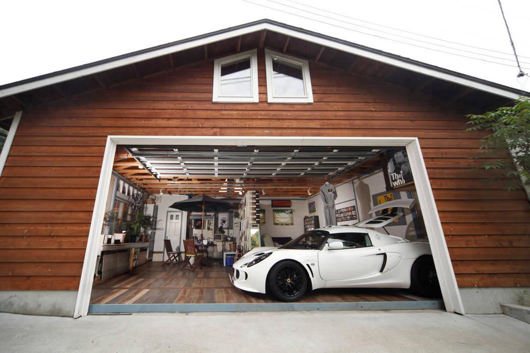 Landelijke Garageschuur Door J Style Garage Coltd Homify