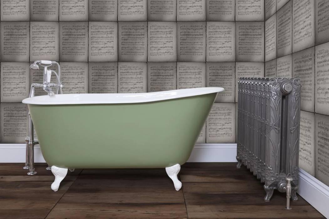 Carron's Lille Cast Iron Bath por UKAA | UK Architectural Antiques Clássico
