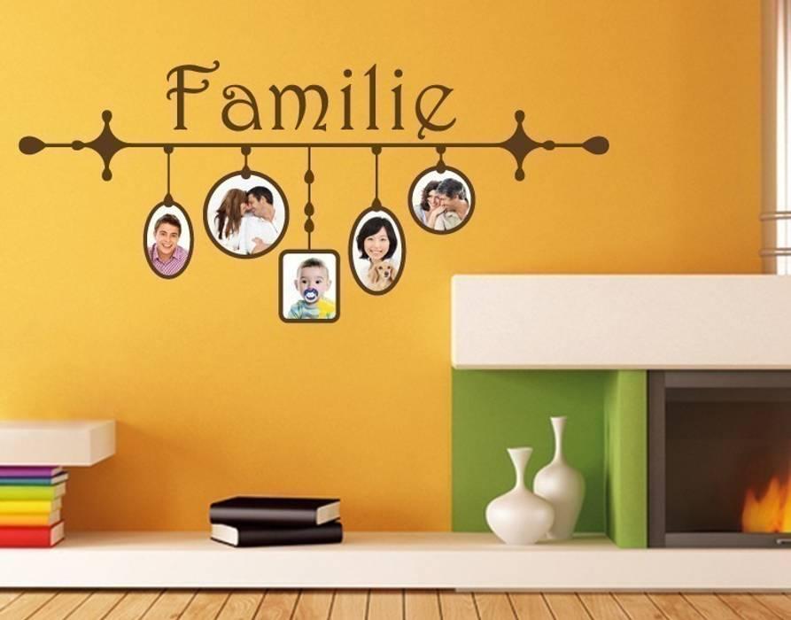 Wandtattoo bilderrahmen familie: wände von klebefieber.de - apalis ...