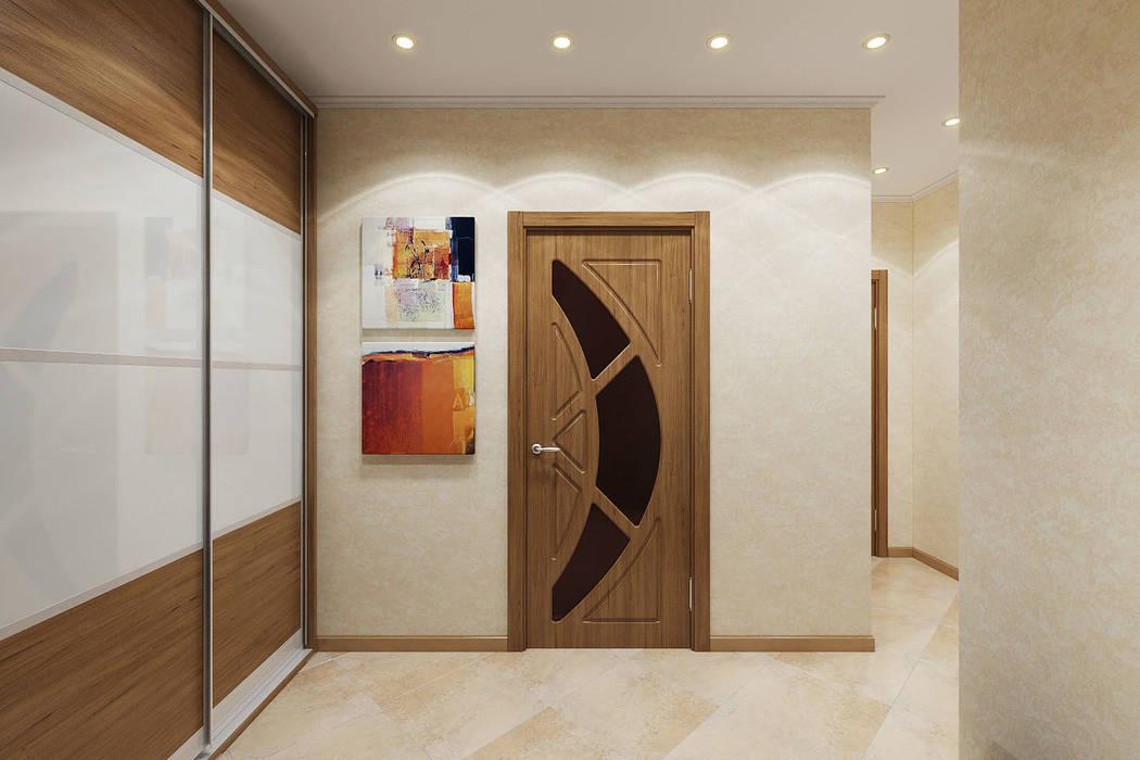 Couloir et hall d'entrée de style  par Студия интерьера 'SENSE', Éclectique