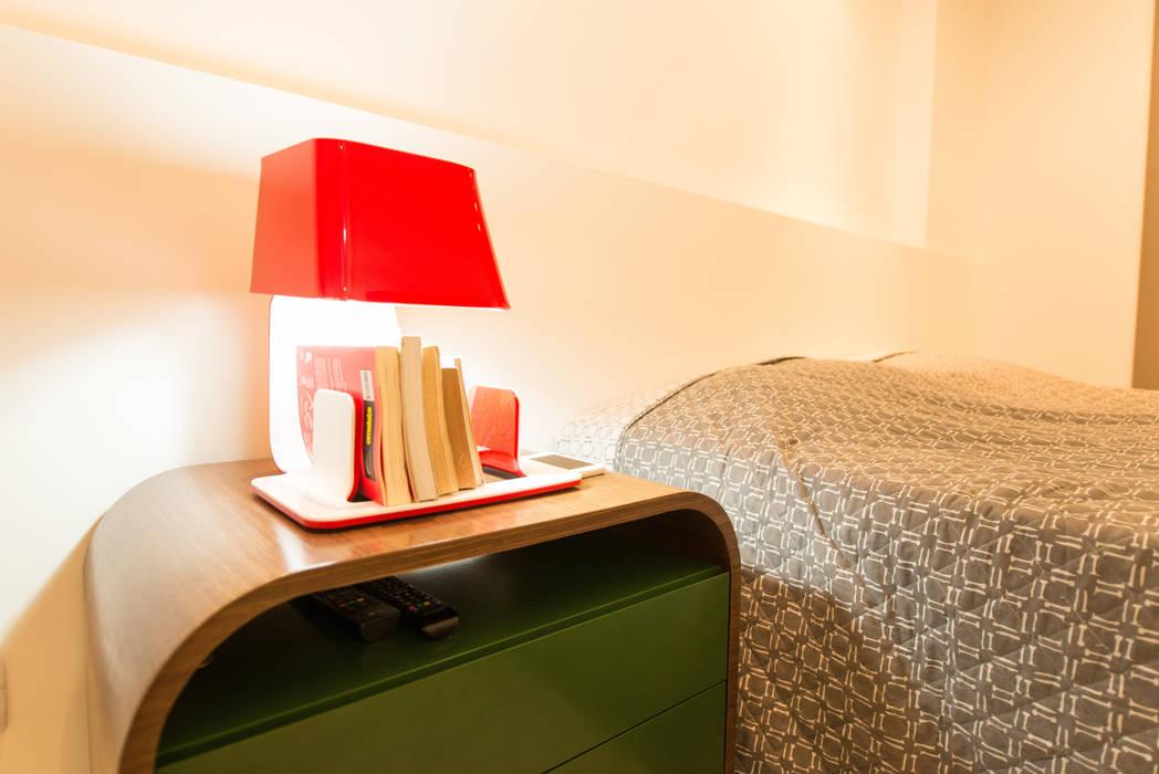 Apartamento Neutro Quartos minimalistas por Lina Eleutério Arquitetura Minimalista
