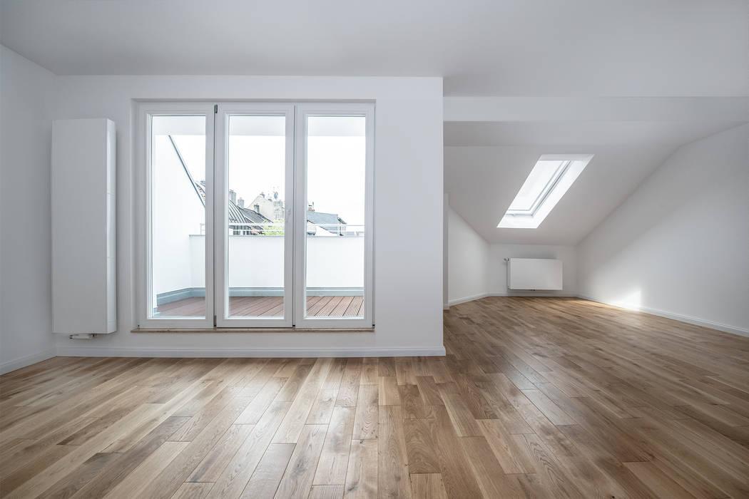 Sanierung Mehrfamilienhaus Düsseldorf/Derendorf Maria Stahl Architekten Moderne Wohnzimmer