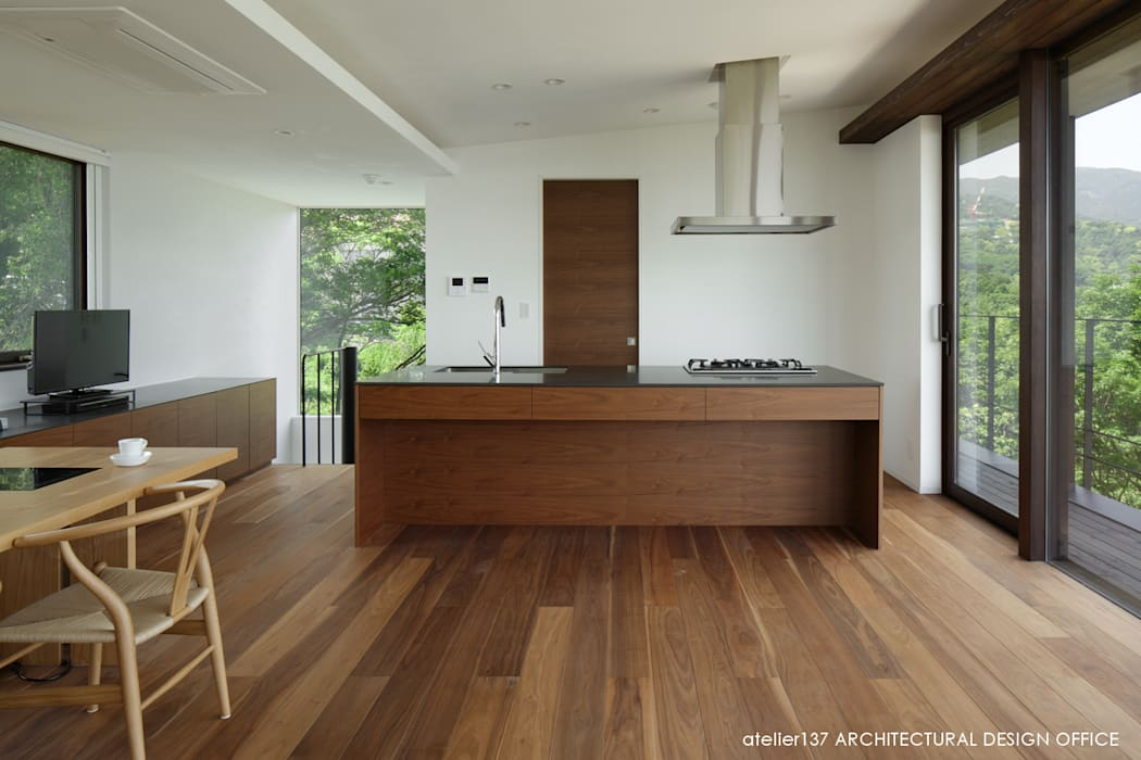 Kitchen by atelier137 ARCHITECTURAL DESIGN OFFICE, Modern Wood Wood effect