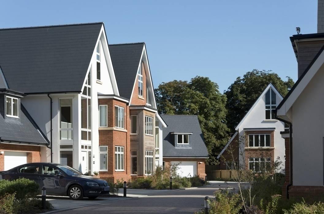Lime Grove Modern houses by Lee Evans Partnership Modern