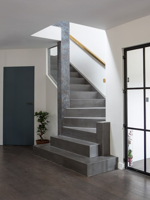 Private Residence, Surrey Nice Brew Interior Design Modern walls & floors