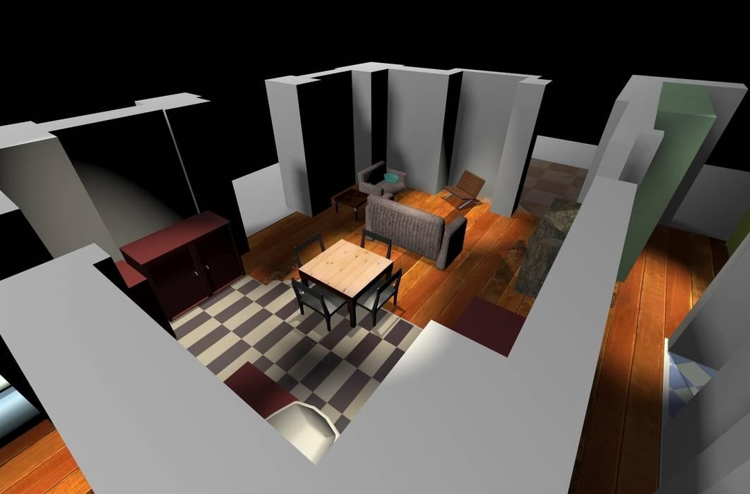 Housemap: Soggiorno in stile in stile Moderno di Paola Donatiello