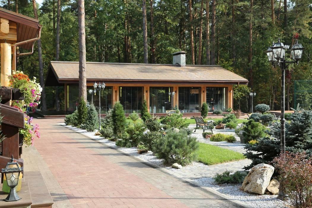 Rustykalny ogród od OwnHome Rustykalny