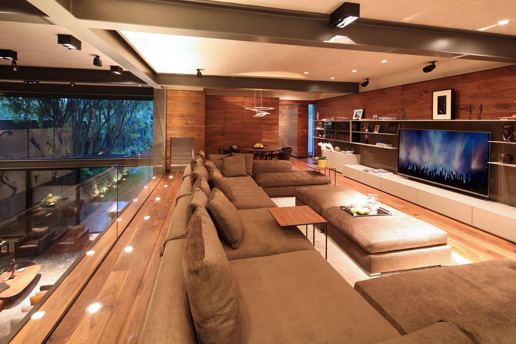 Media room by grupoarquitectura, Minimalist