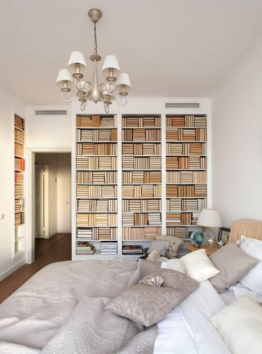 White & Black Design Studio Modern style bedroom