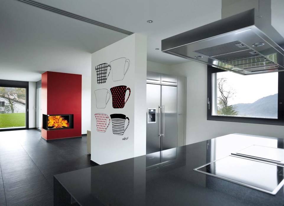 Pintura decorativa Cocinas modernas: Ideas, imágenes y decoración de Barcelona Pintores.es Moderno
