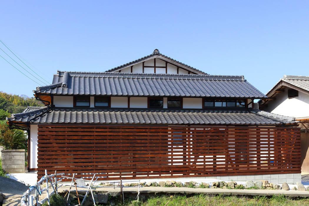 Casas de estilo  de 株式会社濱田昌範建築設計事務所, Asiático