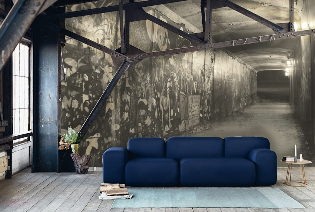 Creativespace Sartoria Murale พื้นและกำแพงวอลเปเปอร์