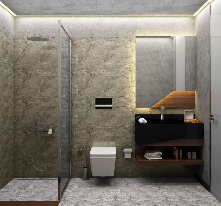 ORANIO Minimalist Banyo Voltaj Tasarım Minimalist