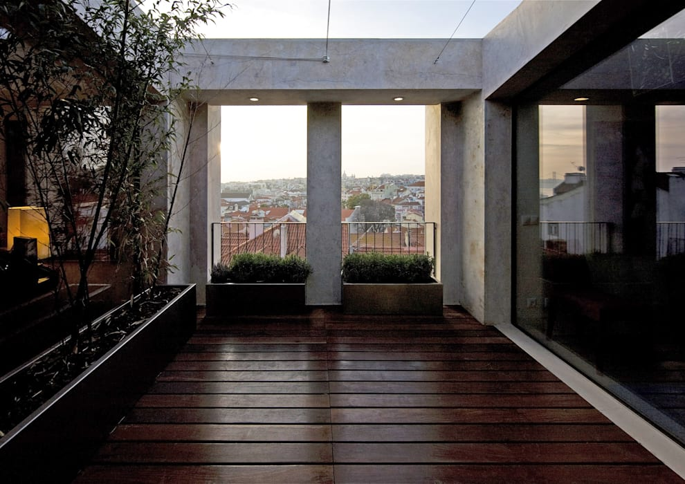 RRJ Arquitectos Тераса