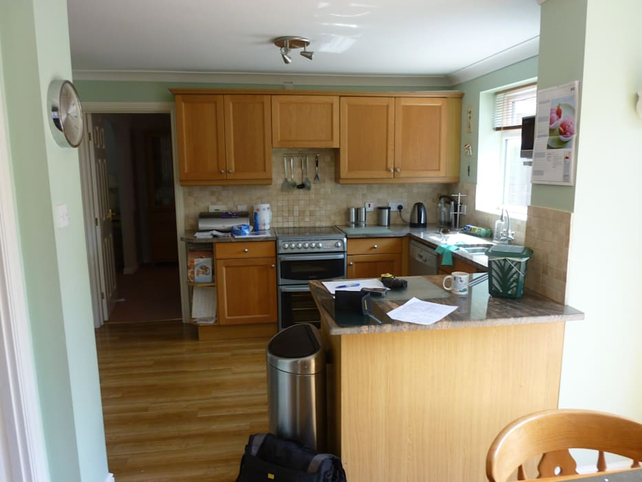 Before Shot - Thomas Kitchen Project, Cardiff Shaun Davies Home Solutions