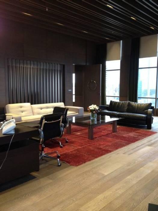 The Big House Mimarlık  – Tekstilbank genel merkezi:  tarz Ofis Alanları, Modern