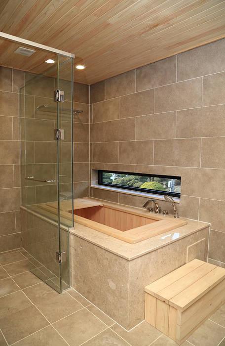 2층 욕실: OUA 오유에이의  욕실,