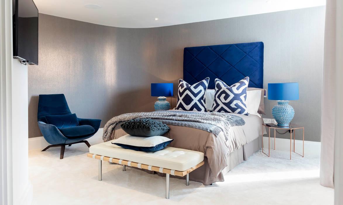臥室 by WN Interiors, 現代風