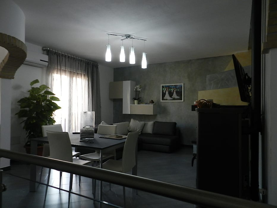 Salas de estilo moderno de SOGEDI costruzioni Moderno