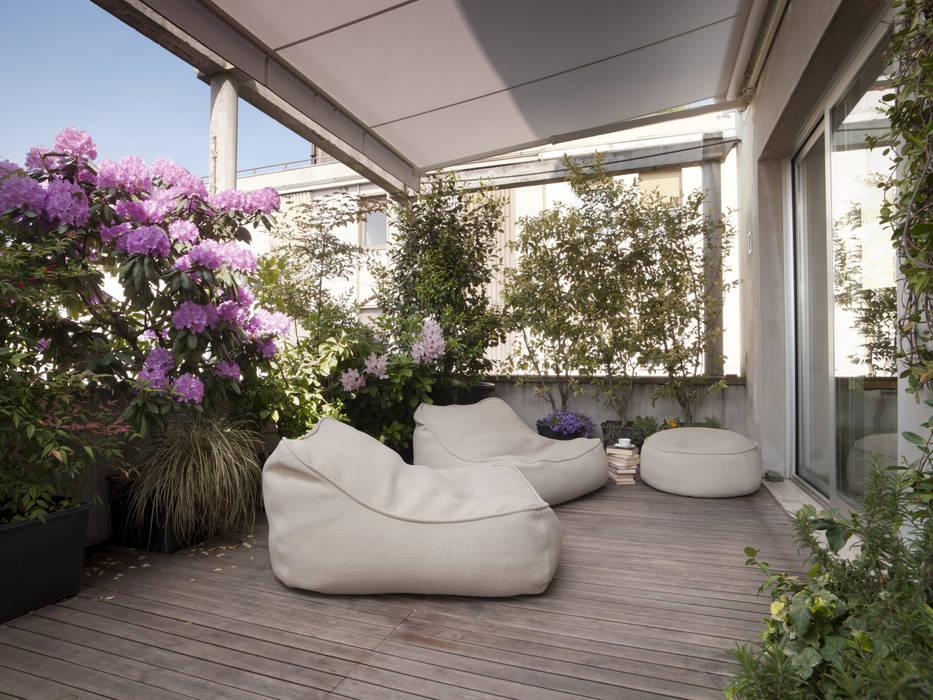 Varandas, alpendres e terraços minimalistas por homify Minimalista