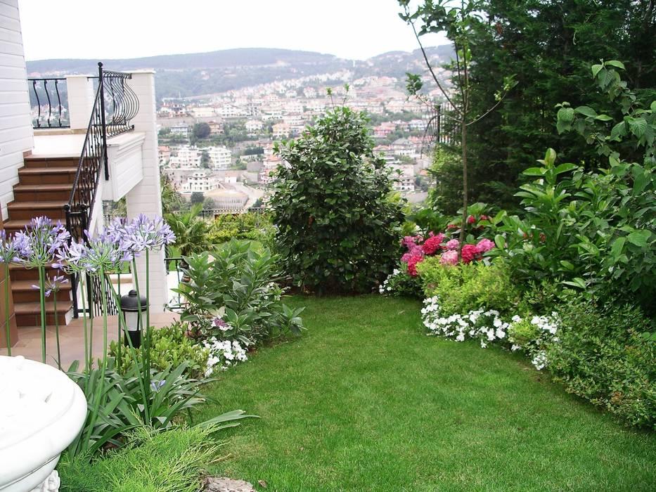 Acarkent Bahçevilla Peyzaj Tasarım Uygulama Klasik Bahçe
