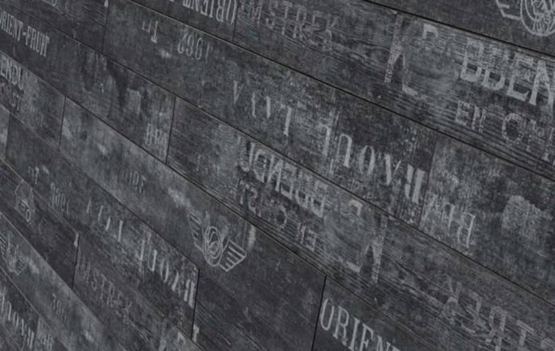 Parador Siyah Yazılı Laminat Parke Rustik Duvar & Zemin homify Rustik