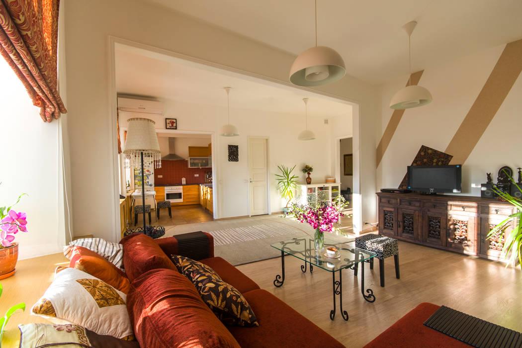 Livings de estilo  por D&T Architects, Minimalista