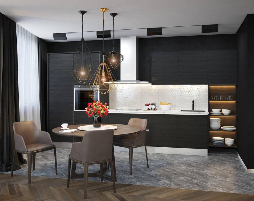 SVAI Studio Eclectic style kitchen