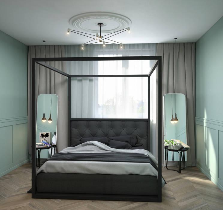 Verge of luxury SVAI Studio Спальня в эклектичном стиле
