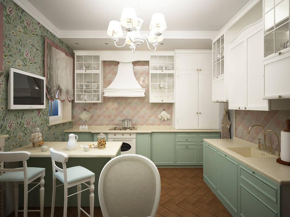 Дизайн-проект 3-й квартиры: Кухни в . Автор – Лилия Панкова,