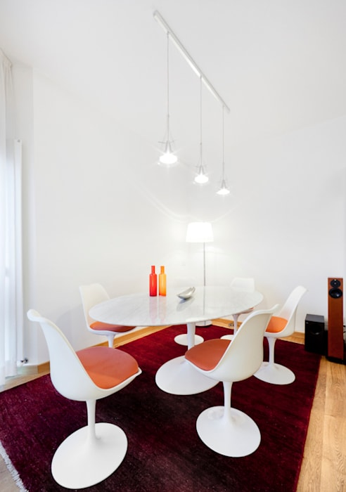 Modern Dining Room by 23bassi studio di architettura Modern Wood Wood effect
