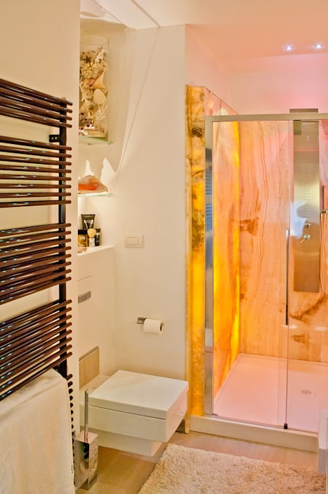 Baños de estilo  por GHINELLI ARCHITETTURA ,