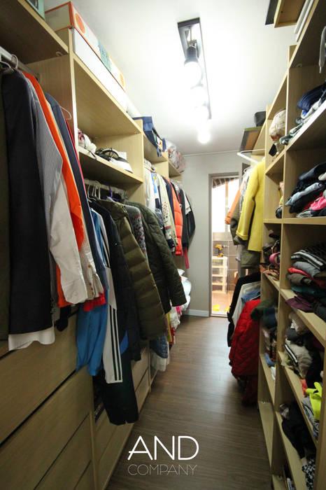 Dressing room by 앤드컴퍼니, Modern