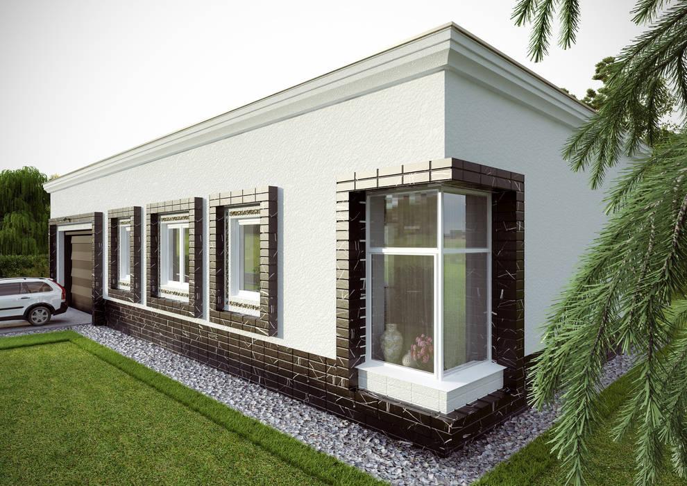 Houses by Architectural Bureau DAOFORM, Modern