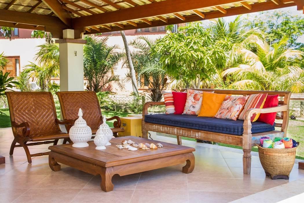 Balcon, Veranda & Terrasse tropicaux par Jamile Lima Arquitetura Tropical