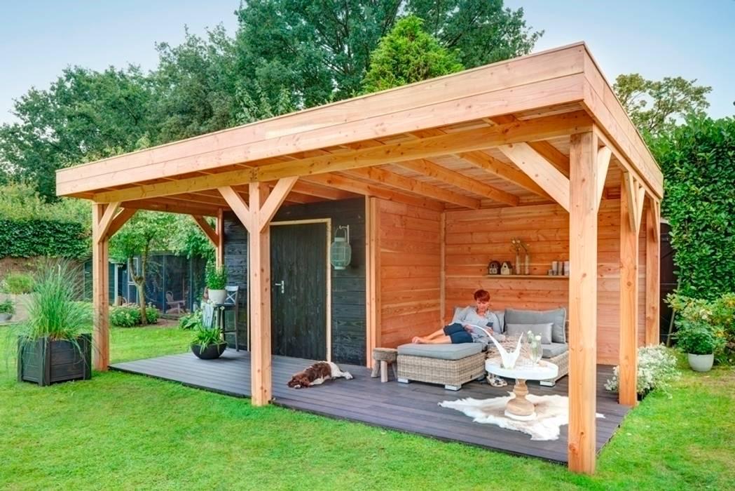 Douglas hout:  Tuin door NuBuiten.nl