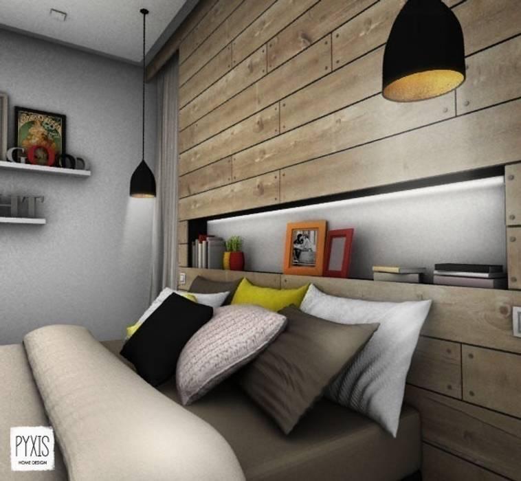 Détail de la tête de lit: Chambre de style de style Moderne par PYXIS Home Design