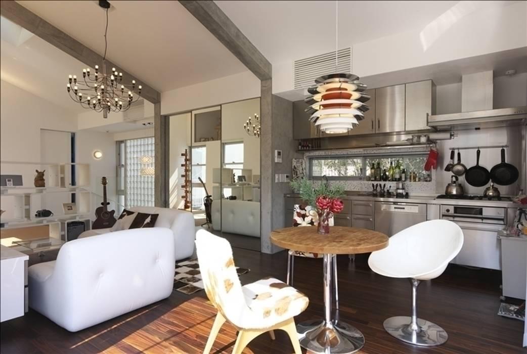 餐廳 by Qull一級建築士事務所, 現代風