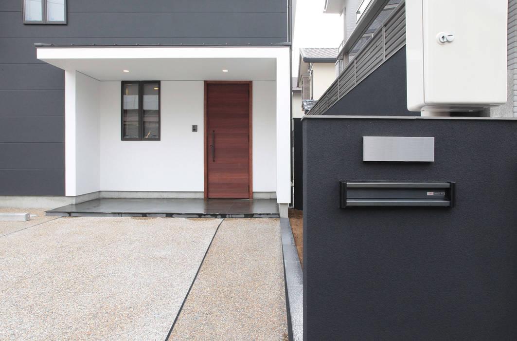 Moderne Häuser von 有限会社 起廣プラン 一級建築士事務所 Modern