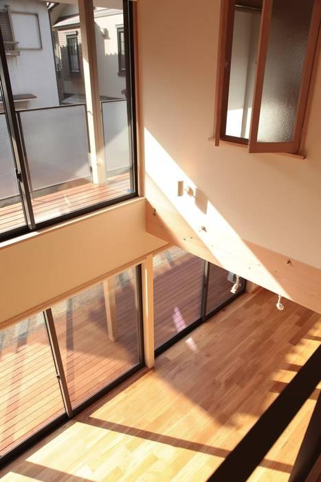 Moderne Schlafzimmer von 有限会社 起廣プラン 一級建築士事務所 Modern