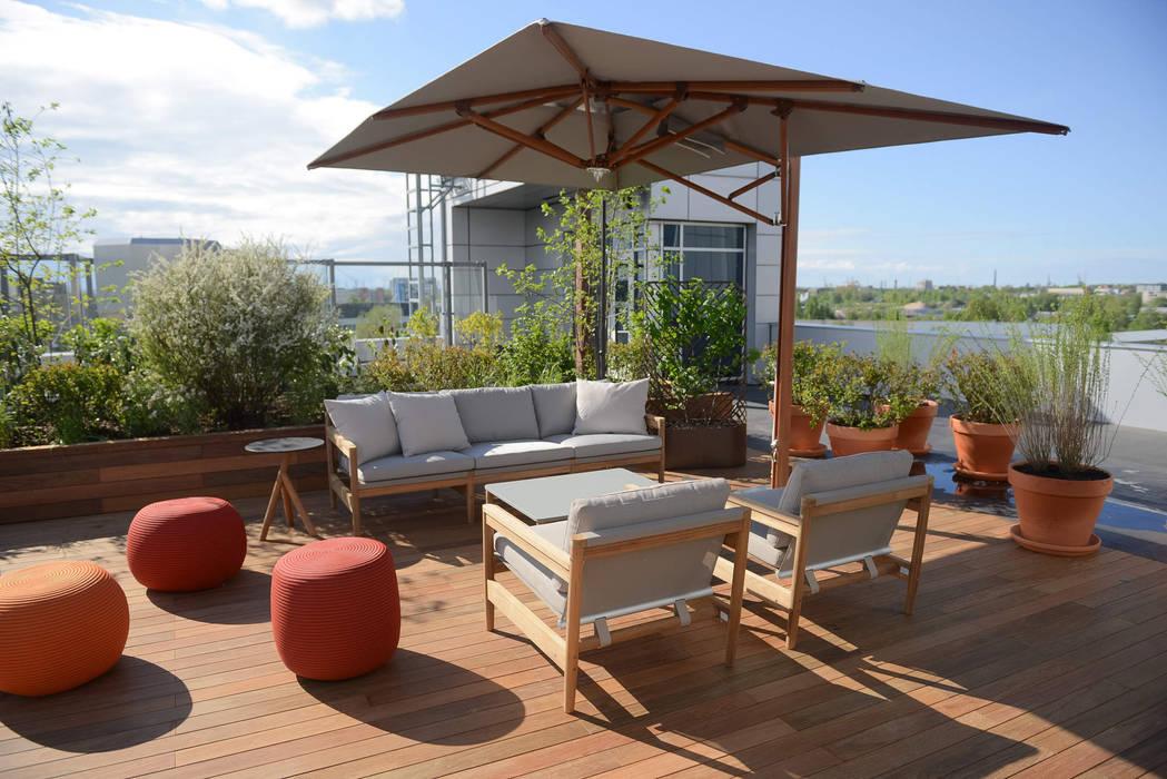 Balcones Y Terrazas Modernos Ideas Imágenes Y Decoración