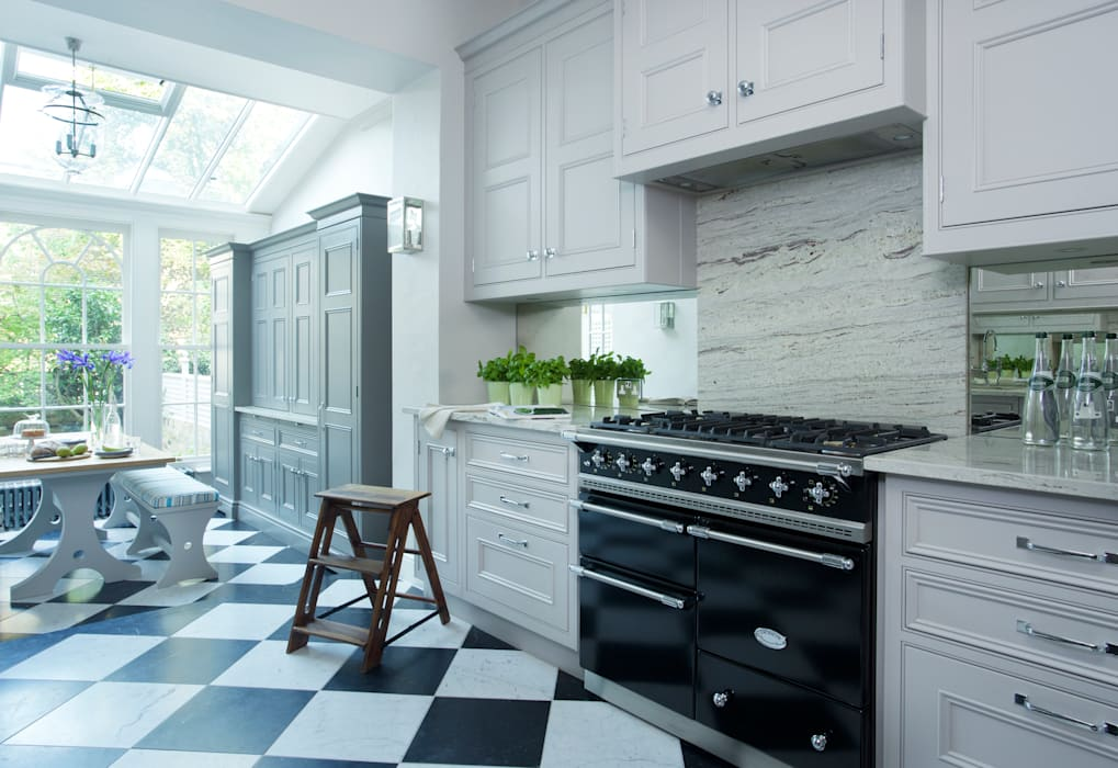 Chelsea Kitchen Lewis Alderson KitchenCabinets & shelves