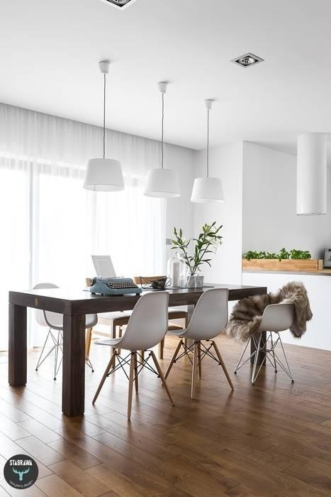 Dining room by stabrawa.pl, Scandinavian