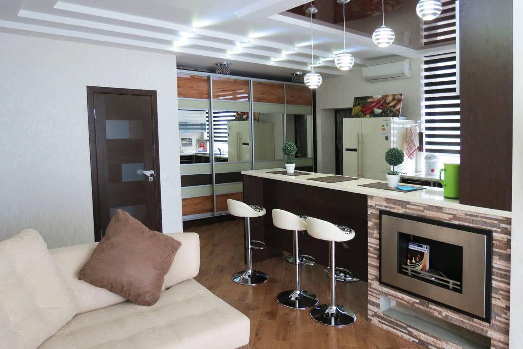 студио Гостиная в стиле модерн от Sweet Hoome Interiors Модерн