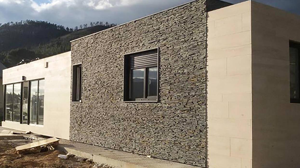 Casa prefabricada Cube 100 m2 - Fachada Casas modernas de Casas Cube Moderno