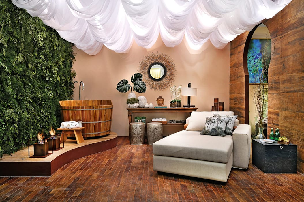 Jardim Vertical | Mostra Circuito Decor 2014 Svetlana Plantas Preservadas Paisagismo de interior