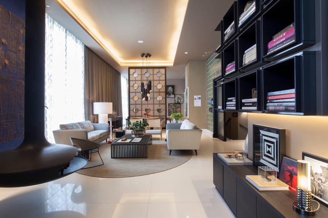 Denise Barretto Arquitetura Modern Living Room